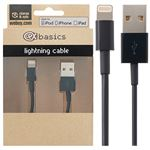 CeX basics - Apple Certified Lightning Cable Black (1M)